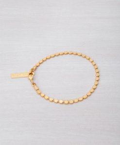 צמיד קאיה - צמיד זהב עדין לנשים   צמידי זהב
