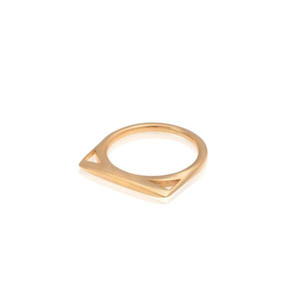טבעת אנה בזהב