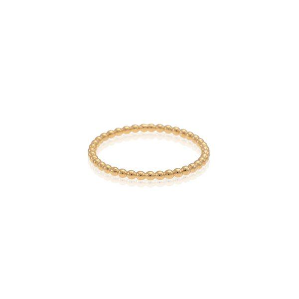 טבעת מקסי זהב