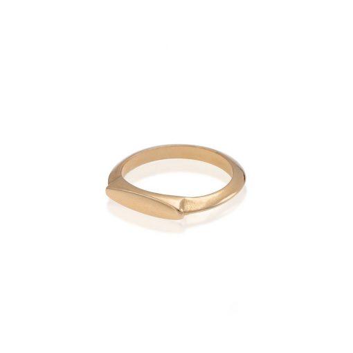 טבעת אוכף זהב