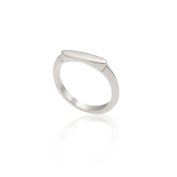 טבעת אוכף כסף