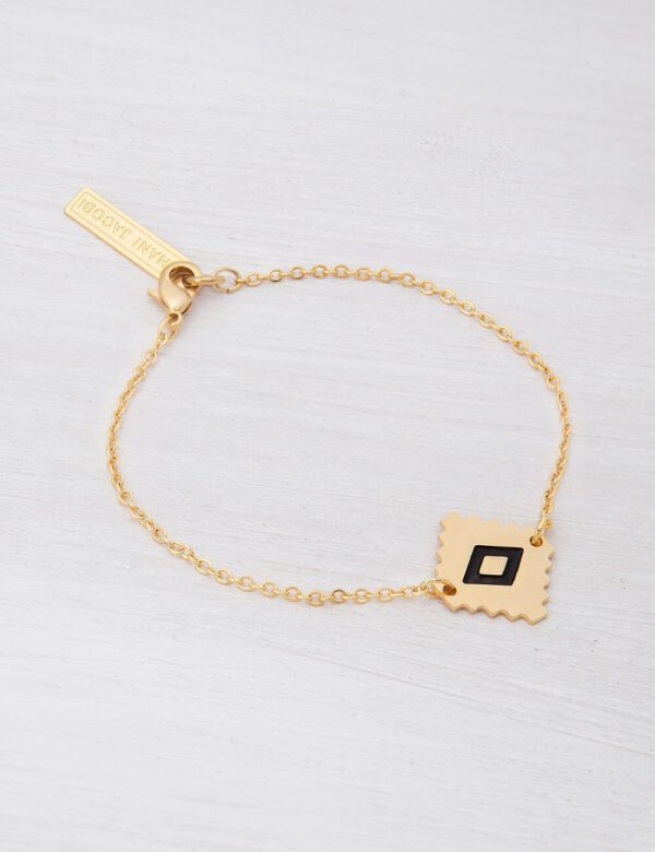 צמיד אקוודוור גרנט - צמיד זהב או כסף מקולקציית צמידי BOHO