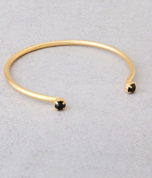 צמיד בולס - צמידי זהב משובץ אבני סברובסקי - צמידים