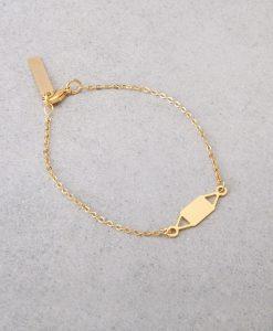 צמיד שרשרת סיקרט - צמיד זהב לאישה - צמידים