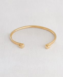 צמיד סקארה לאישה בציפוי זהב 24 קראט