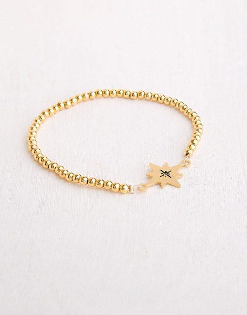 צמיד כוכב מקסי - Northern Star Bracelet - צמיד כוכב הצפון