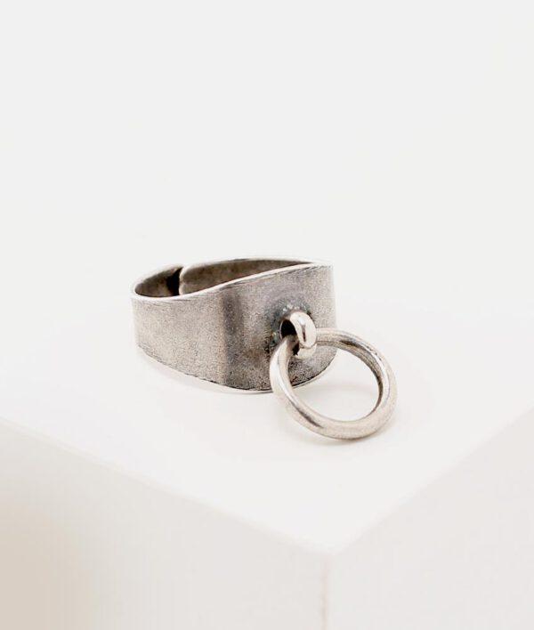 טבעת דורי כסף
