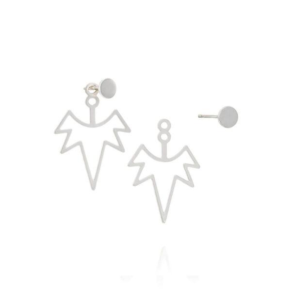 עגילי לונה חלול