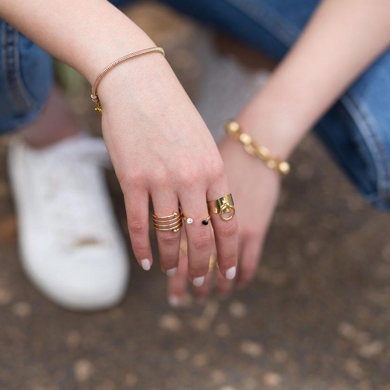 מיקס טבעת וצמידים של שני יעקובי