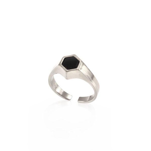 טבעת סולו כסף