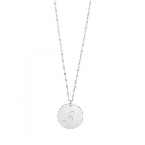 שרשרת אנה עם חריטה אישית - עשויה כסף 925