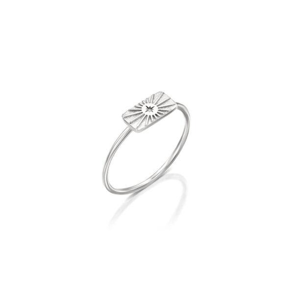 טבעת מולאן מלבן