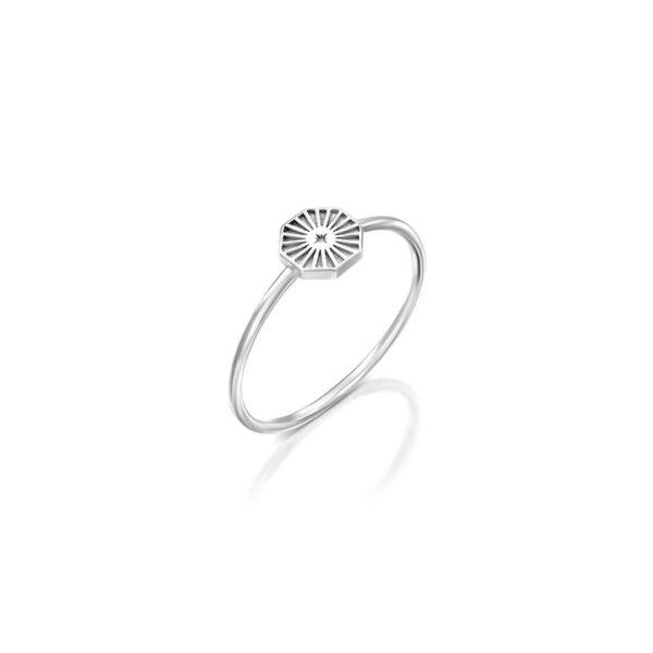 טבעת מולאן משושה