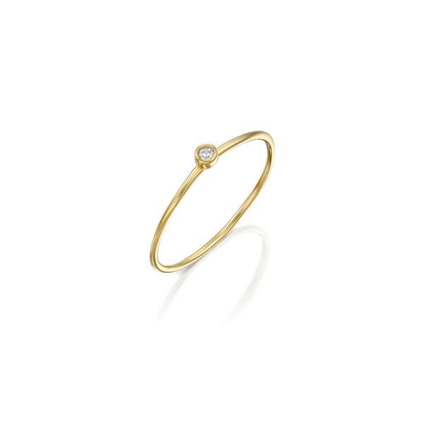 טבעת ספוט זהב