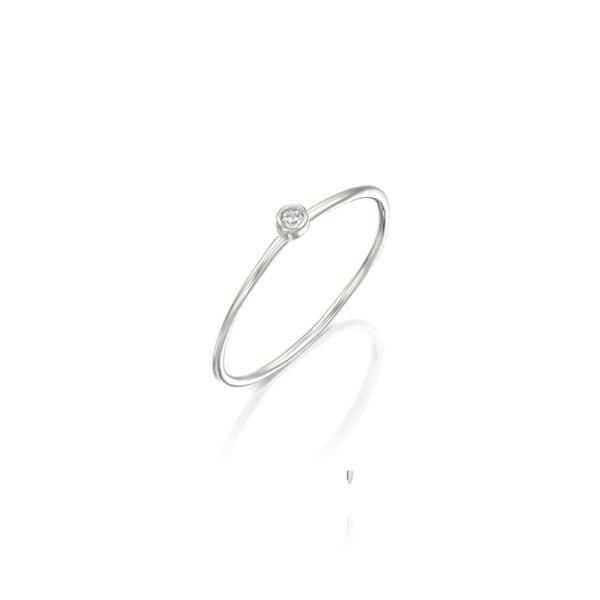טבעת ספוט כסף