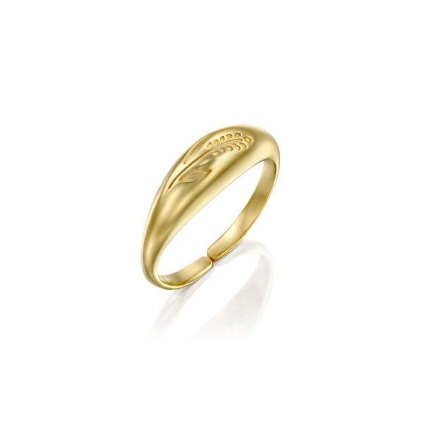 טבעת ואלי זהב S