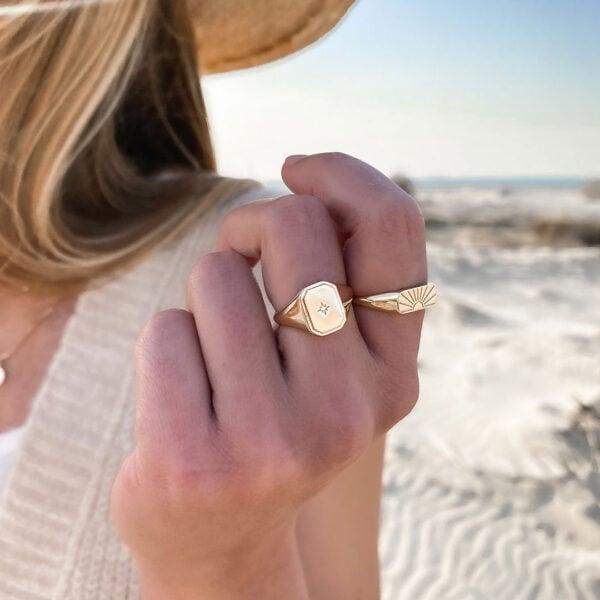 טבעת אדל וטבעת סאנסט