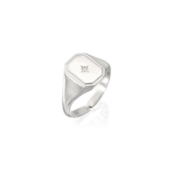 טבעת אדל כסף