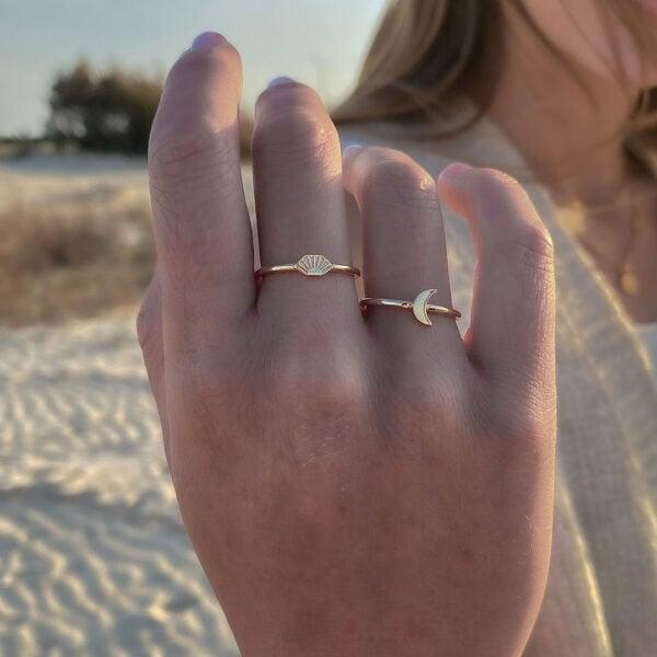 טבעת מון וטבעת סאן
